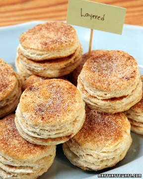 Layered Biscuits Recipe Breakfast Recipes Biscuits Food