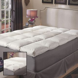 Super Snooze 5-inch 230 Thread Count Baffled Featherbed Set | Overstock.com Shopping - Great Deals on National Sleep Products Down Featherbeds