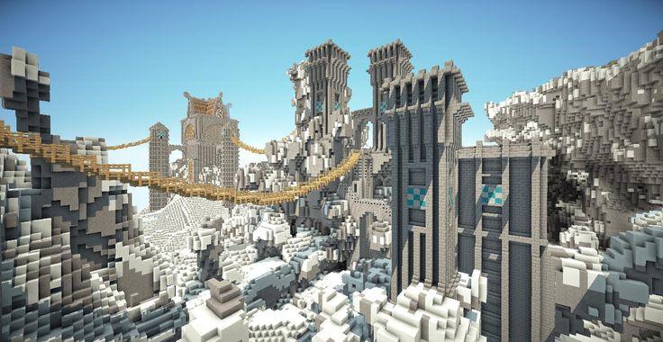 Minecraft Castle Entrance #drawbridge VeteranCraft Likes this! #minecraft #veterancraft http://www.veterancraft.net