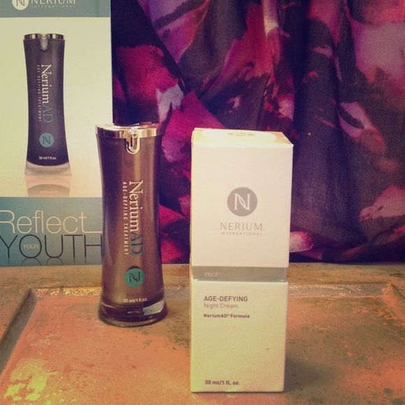 Nerium International Night Cream Nerium International Night Cream reduces appearance of fine lines and wrinkles, discoloration, uneven skin texture, large pores, and aging or loose skin Nerium International  Other