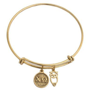 Chi Omega Bracelet Greek Gallery