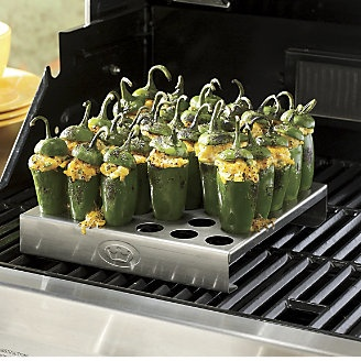 King Kooker Jalapeño Rack makes these popular and zesty appetizers easy and delicious. ~ www.ginnys.com