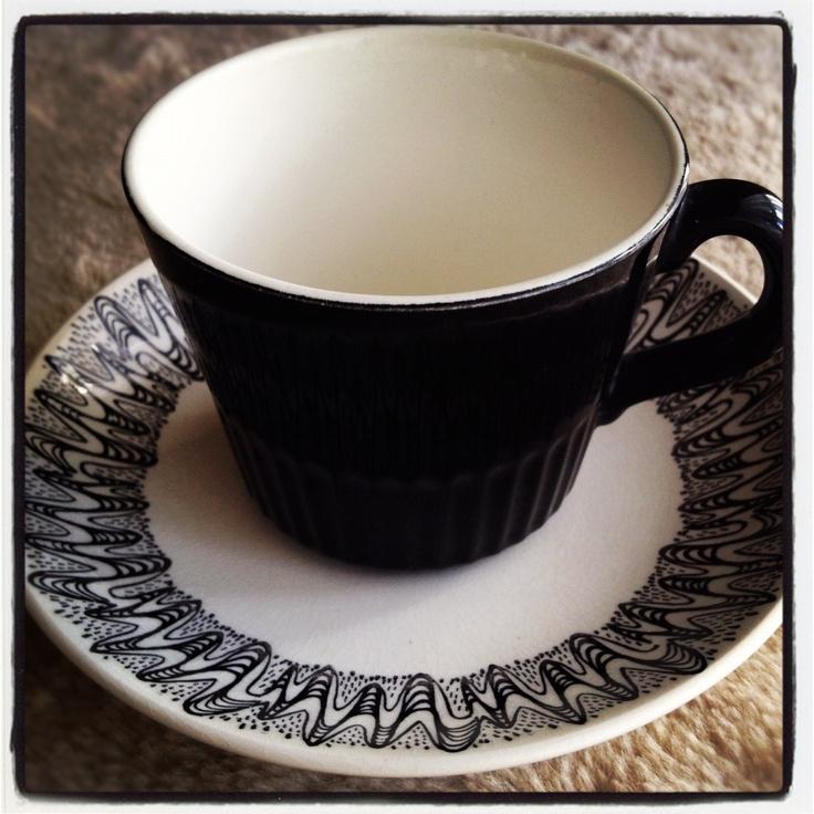 Crown Lynn - Coronet cup & saucer