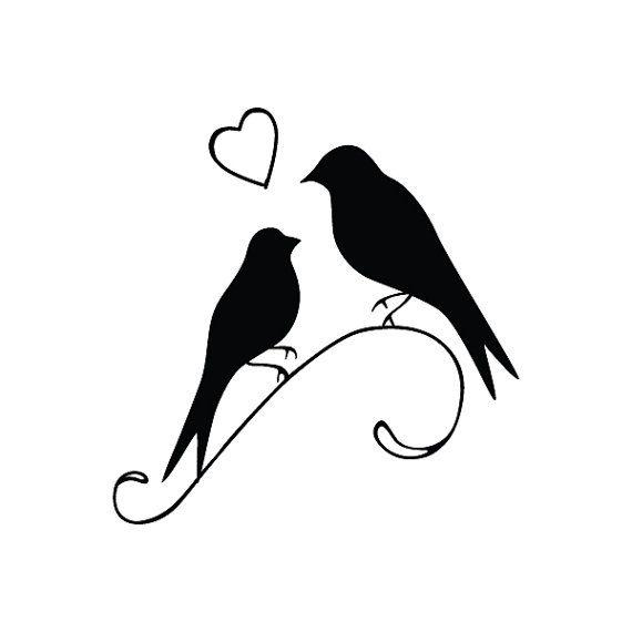 Lovey Dovey  tatuaje temporal juego de 2 por Tattify en Etsy