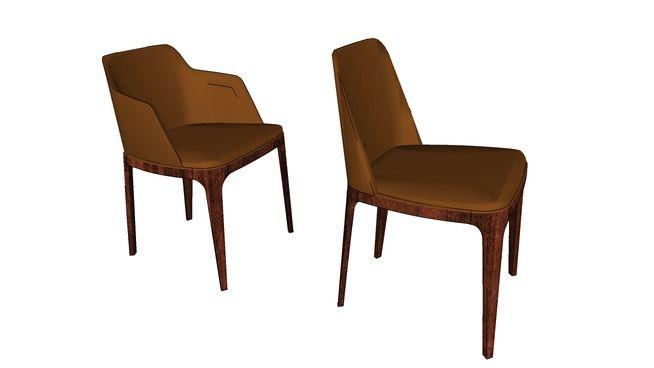 Poliform Chair_Grace - 3D Warehouse