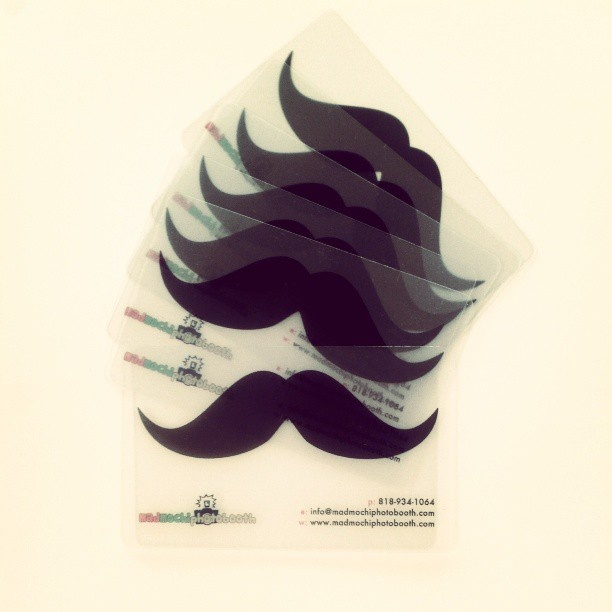 12 best unique business cards images on pinterest business cards mustache businesscards httpmadmochiphotobooth unique business cardsbusiness card reheart Image collections