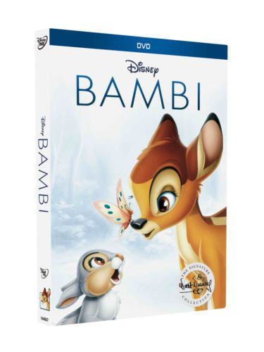 Bambi DVD 2017 Signature Edition Disney (Free Fast Shipping) (US Seller) NEW!