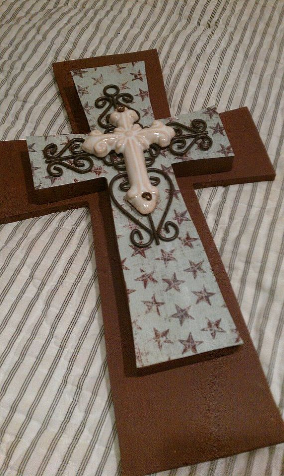 1000 Images About Handmade Crosses On Pinterest Painted
