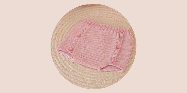 Patron pour tricoter un bloomer bébé
