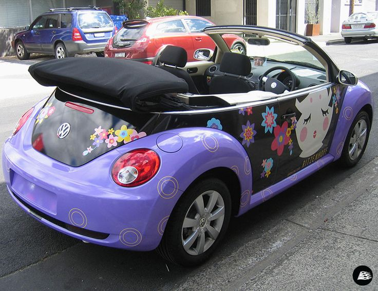 Ritzenhoff VW Beetle #themeddesign #springracing #designer #ritzenhoff #melbourne #cabriolet #vehiclewrap #Volkswagen
