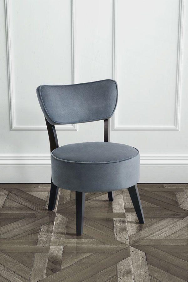 Ennya Smoke Grey Upholstered Chair
