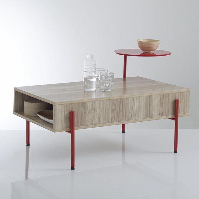1000 id es propos de table basse style industriel sur pinterest tables b - Table basse scandinave la redoute ...