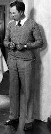 Slacks, Sweater and Tie Was Popular in the 1920s