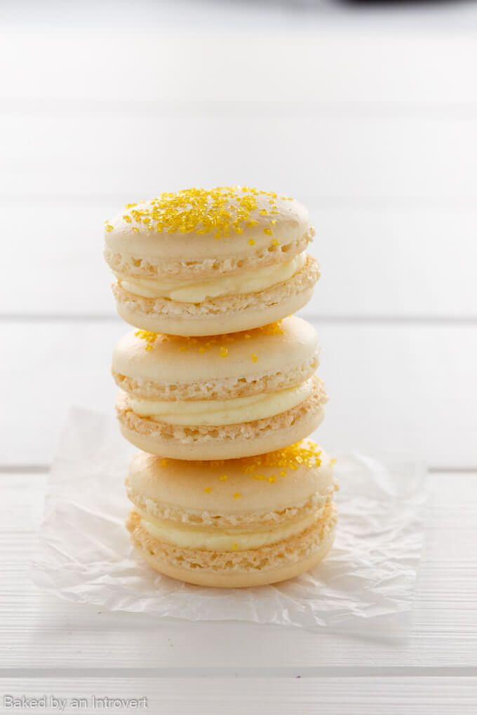 Make Easter fun with this simple recipe for colorful Cheesecake Macarons. Crisp and chewy French Macarons sandwiched together with fruity Cheesecake.