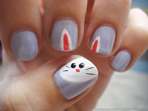The Best Bunny Nail Art On Pinterest (And Other Serious Things) - Best 25+ Bunny Nails Ideas On Pinterest Easter Nails, DIY Easter