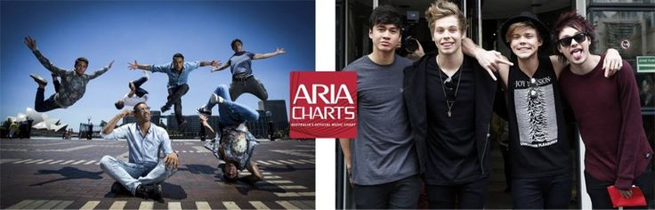 A piece of ARIA Charts history this week with Sydney's Justice Crew at #1 for a ninth straight week with Que Sera. They become the outright record holder for the most weeks at the top of the ARIA Singles Chart by an Australian act! On the Albums Chart, 5 Seconds of Summer make it an Aussie double as they debut at #1 with their self-titled debut album.