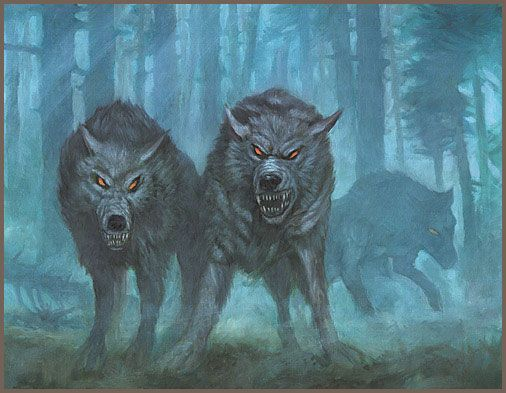 Wild Wargs from 'The Hobbit'