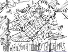 205 best coloring pages - christmas images on pinterest | drawings ... - Detailed Christmas Coloring Pages