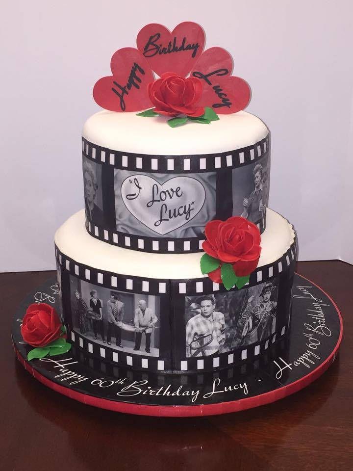 https://flic.kr/p/uNdpbA | I Love Lucy birthday cake