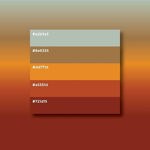 Hicimos Una Paleta De Colores Para Darle La Bienvenida Al Otoño Coolpebbles Shoponline Paletadecolores Autumn Otoño Fall Autum ส
