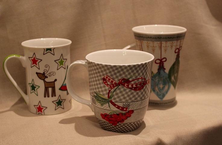 Kubki idealne do herbaty z miodem lub grzańca. #euroszklo #prezenty
