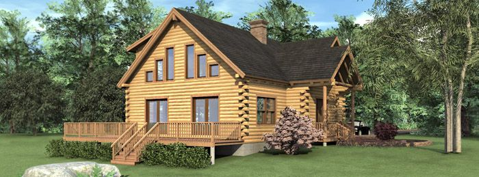 14 best log homes i would love to have images on pinterest for Southern exposure house plans