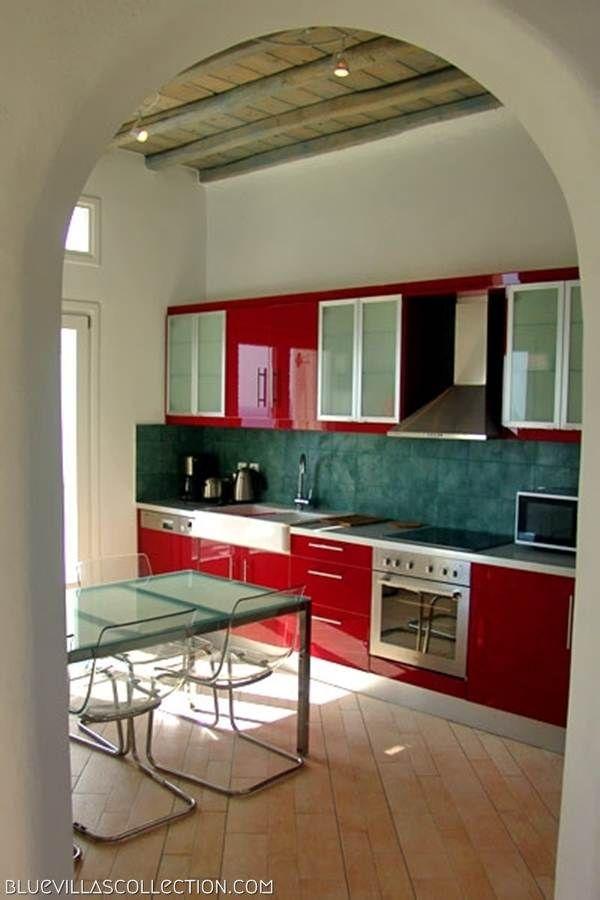 Nephele Villa Kitchen