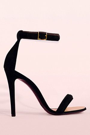 Sandals with an ankle strap from the Celine spring 2011 collection.