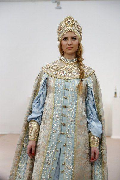 traditional Russian attire