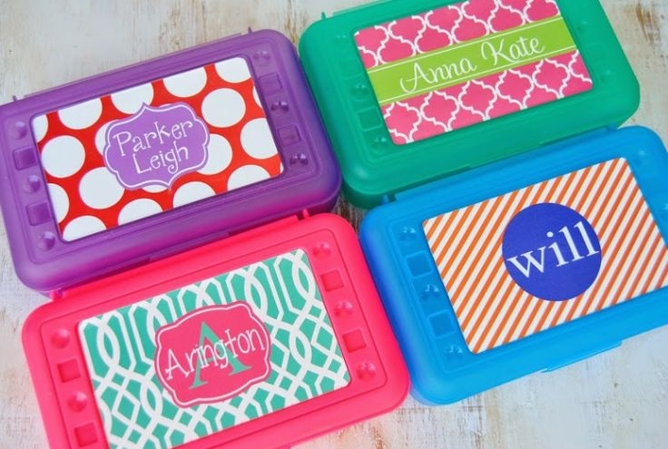 DIY Personalized School Supplies Round-up!