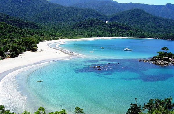 Baía dos Castelhanos, Ilhabela, Brasil