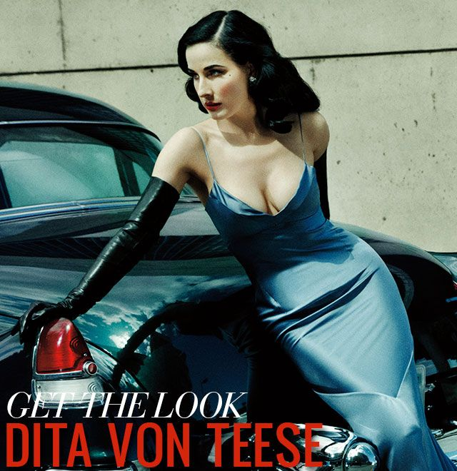 How to Do Pin Up Hair and Makeup — Dita von Teese Get the Look with Gregory Arlt and John Blaine