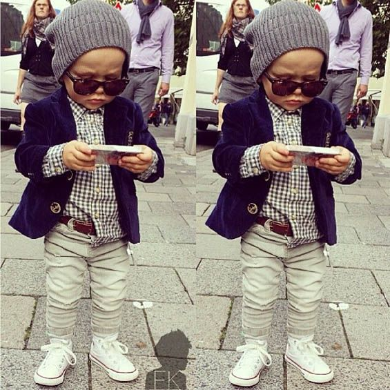 Baby boy fashion- Inspired by adult
