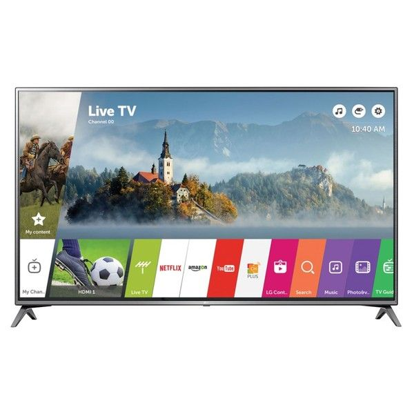 awesome Smart TV LED 49 ´ Ultra HD 4K LG 49UJ6300 com Sistema WebOS 3.5, Wi - Fi, Painel IPS, HDR, Quick Acess, Magic Mobile Connection, Music Player, HDMI e USB