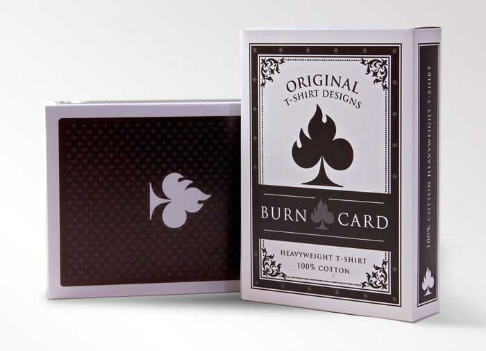 Burn Card Clothing is a new company who makes original t-shirts for original people.