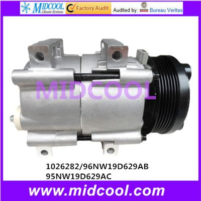 HIGH QUALITY AUTO AC COMPRESSOR FS10 FOR  1026282/96NW19D629AB/ 95NW19D629AC