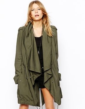 Festival Parka Jacket | Outdoor Jacket