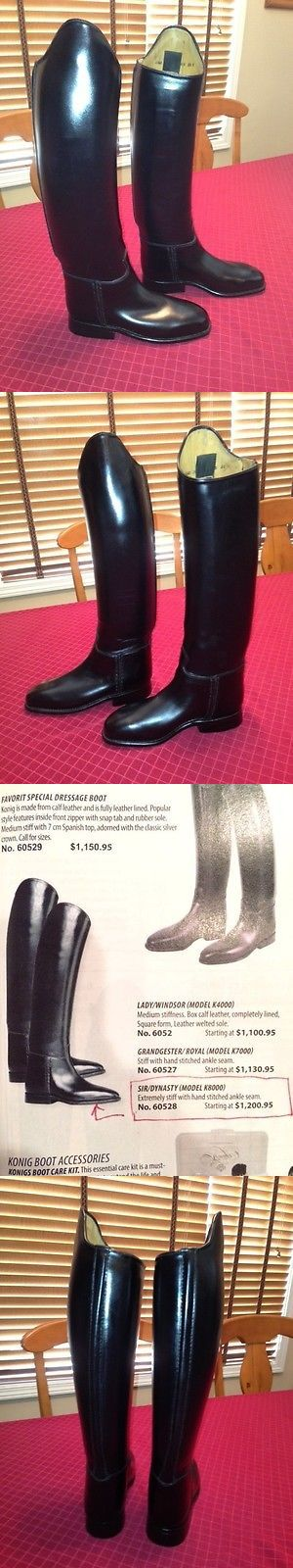 Other Riding Boots and Accs 46076: New Konig Sir/Dynasty Model K8000 Dressage Boots - Size Us 5 - German 2 1/2 -> BUY IT NOW ONLY: $500 on eBay!