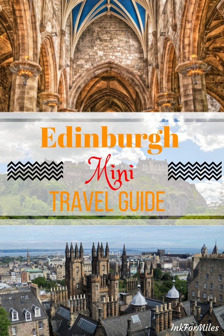 If you have about three days in Edinburgh and you want to indulge your inner history buff then this mini travel guide is for you! #EdinburghScotland #ThingsToDoInEdinburgh #EdinburghSoloTravel