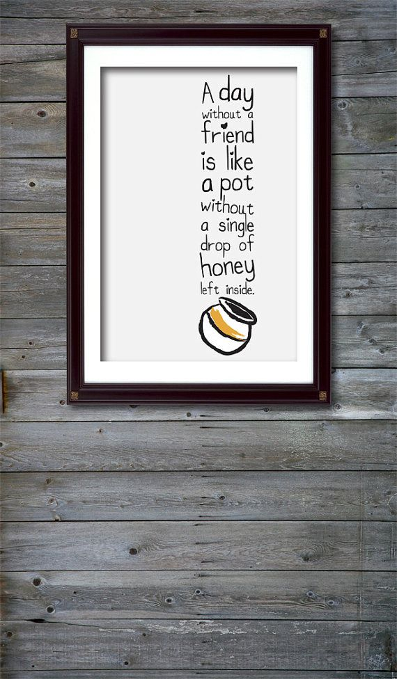 Pooh Friend Quote