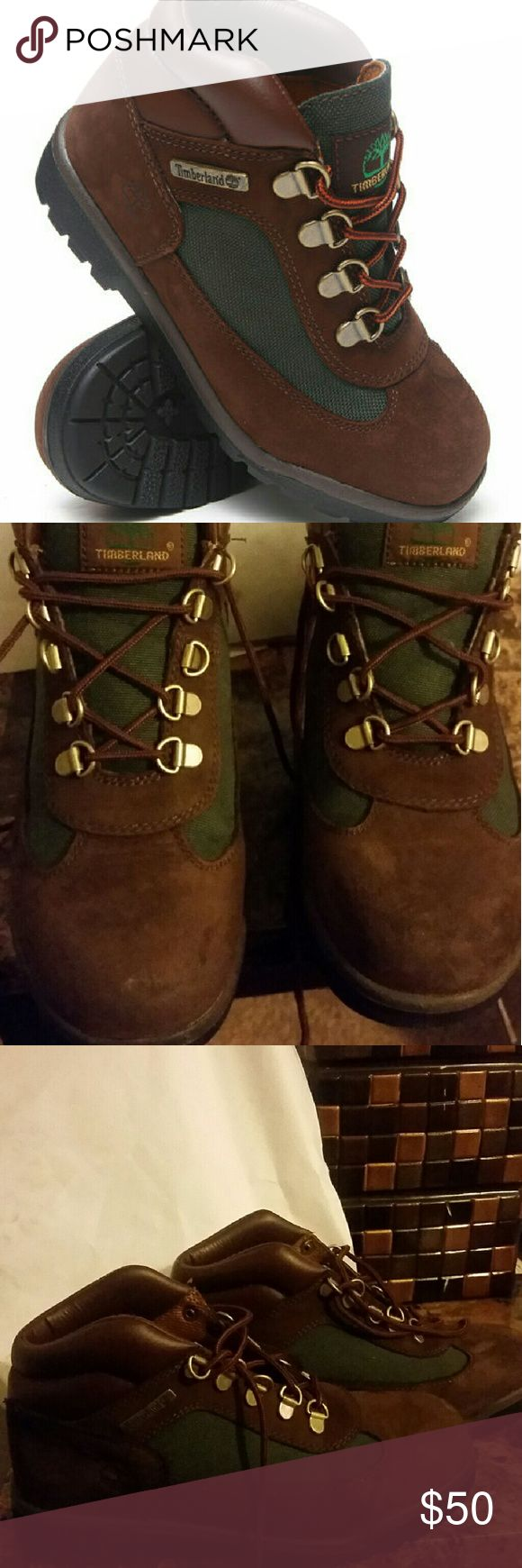 Timberland Field Boots boys Excellent condition barely worn Field boys boots by Timberland. Timberland Shoes Boots