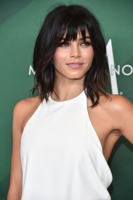 Jenna Dewan-Tatum The dancer-actress has been giving us angled-lob goals for months, but we especially love the piecey, razor-cut ends (plus faux bangs) she recently showed off.