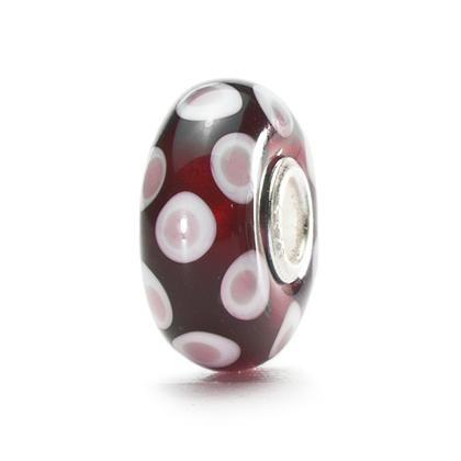 Luck & Joy Starter Bracelet - Wine Red - trollbeads.com