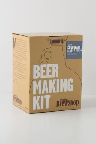 Brooklyn Brew Shop Chocolate Maple Porter Home Brewing Kit: Anthropologie