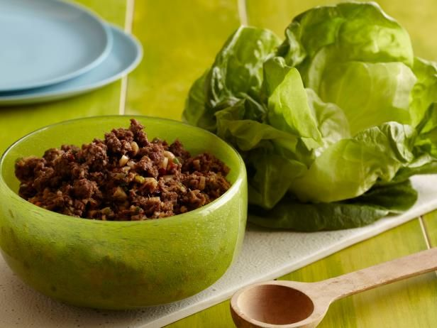 Get Sunny Anderson's Asian Lettuce Wraps Recipe from Food Network