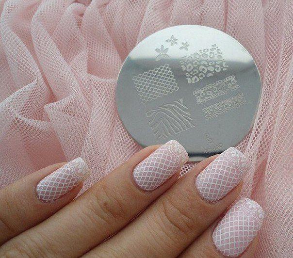 Beautiful wedding nails, Bridal nails, Delicate wedding nails, Festive nails…