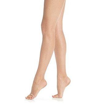 HUE® Lace Panty Toeless Pantyhose