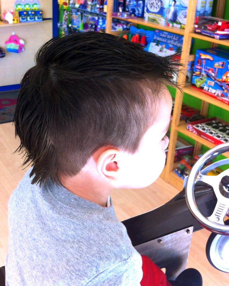 Mohawk Relaxed Kidsnips Haircuts For Boys Pinterest