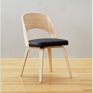 Contemporary Birchwood Dining Chair - Black | dining room furniture & 14 best Dining chairs images on Pinterest | Dining chair Dining ...