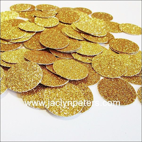 Gold Glitter Party Confetti